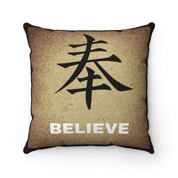 The Law of Attraction Believe Pillow