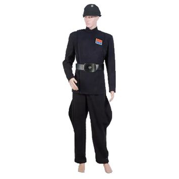 Star Wars Rogue One Director Orson Krennic Cosplay Costume  Full Set Halloween navy Officer Uniform with hat