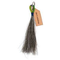 Horse Hair Tassel Key Chain, Gray/Green, Other Lifestyle Accessories