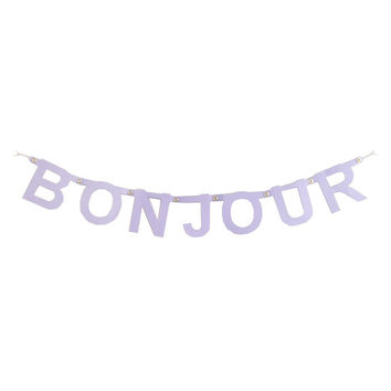 I liked this design on #Fab. Bonjour Banner