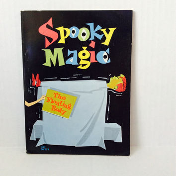 Spooky Magic - Vintage Children's Book - 1969