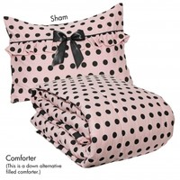 Wake Up Frankie - Left Bank Comforter Set - Left Bank Comforter Set : Teen Bedding, Pink Bedding, Dorm Bedding, Teen Comforters
