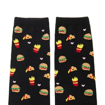 Fast Food Ankle Socks