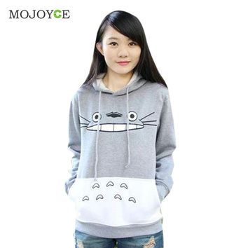 New Fashion Men Women Cartoon Totoro Hoodie Sweatshirt Women Unisex  Pullover Sweatshirt  Hoodies Women