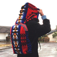 Painted Warrior Pendleton Hooded Backpack — Beyond Buckskin Boutique
