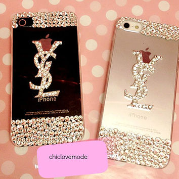 Clear iphone 4s case crystal iphone 5 case cover ysl phone case simple iphone case iphone cover case