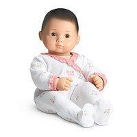 American Girl® Dolls: Light skin, brown hair, green eyes