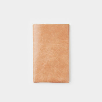 Flap Card Holder - Camel