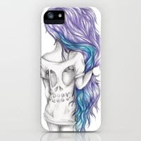 Skull Shirt iPhone Case by Krista Rae | Society6