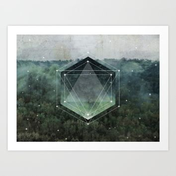 The Sacred Wood Art Print by Cafelab