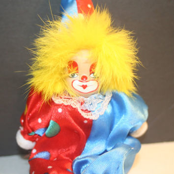 Shop Vintage Clown Dolls on Wanelo