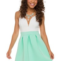 Miramar Dress - Mint
