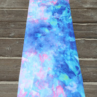 Blue Opal Yoga Mat - Yoga mats / Yoga mat, Work out / Gift idea for a health nut / Fitness / Exercise