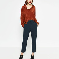 MASCULINE CARROT TROUSERS
