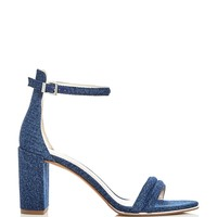 Kenneth ColeLex Denim Block Heel Sandals
