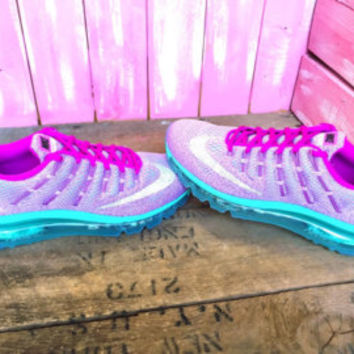 Swarovski Nike Air Max 90 Ultra Breathe Running Shoes Blinged Out With Swarovski Crystals Bling Nike Shoes