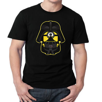 Dark Minion Star Wars Mens T-shirt Black and White