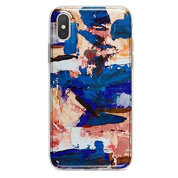 Abstract Paint iPhone Xs Max case
