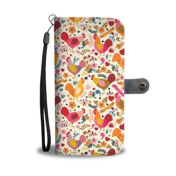Adorable Chicken Wallet Phone Case-Clearance