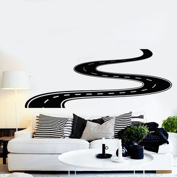 Vinyl Wall Decal Road Highway Room Decoration Stickers Unique Gift (ig3826)