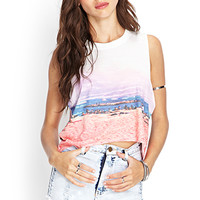 Sunset Muscle Tee