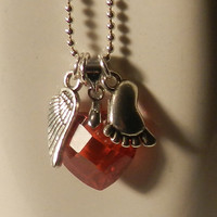 ON SALE Miscarriage Necklace Miscarry Gift Infant Loss