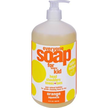 Everyone Soap For Kids - Orange Squeeze ( 2 - 32 FZ)