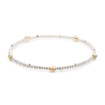 Crystal Knot Bangle Bracelet | Alexis Bittar