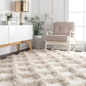 nuLOOM Francene Diamond Trellis Area Rug