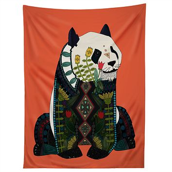 Sharon Turner panda Tapestry