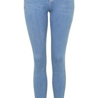 MOTO Azure Blue Leigh Jeans - Pale Blue