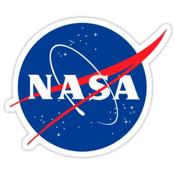 'Nasa - Space travel' Sticker by TexasBarFight