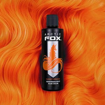 Arctic Fox 'Sunset Orange' Semi Permanent Hair Dye