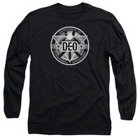 Supergirl TV Show DEO Mens Long Sleeve T-Shirt
