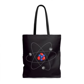 The Law of Attraction Atomic Tote Bag