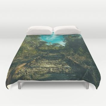Abandoned Duvet Cover by Mixed Imagery