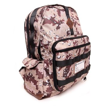 XL Desert Camo Backpack with FREE Power Bank