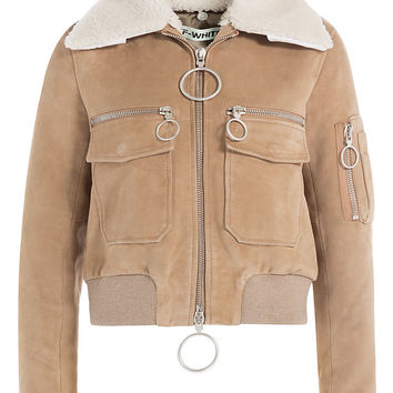 Off-White - Suede Jacket