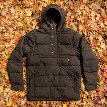 Tracker Anorak Down Jacket - Black | Poler Stuff