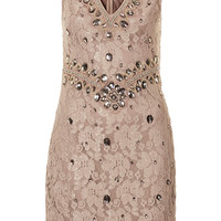**LACE EMBELLISHED DRESS BY TFNC