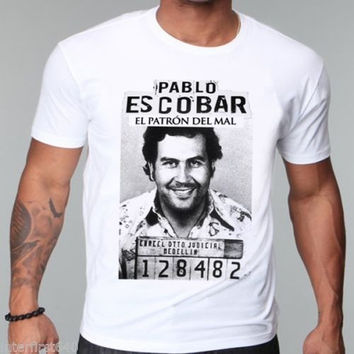 Gangster, Pablo escobar t shirt, Colombian Drug,weed, mafia t-shirt