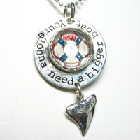 Elisa Sullivan- You're gonna need a bigger boat. Jaws Necklace