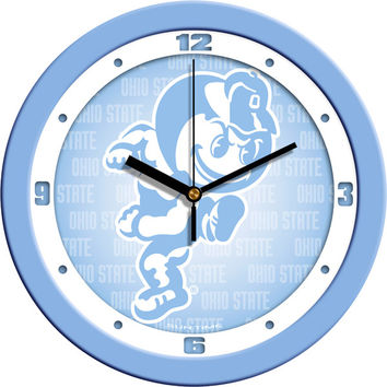 Ohio State Buckeyes Baby Boy Blue 12 in. Wall Clock