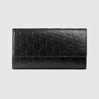 Gucci - Gucci Signature continental wallet