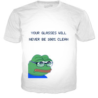 Your Glasses Will Never Be 100% Clean T-shirt