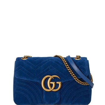 Gucci GG Marmont Medium Quilted Shoulder Bag