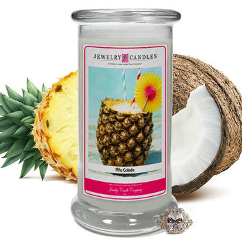 Piña Colada Jewelry Candle