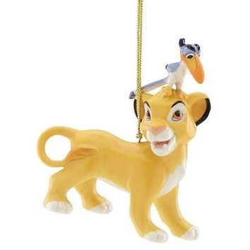 Disney Simba & Zazu Ornament by Lenox