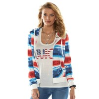 Juicy Couture Stars & Stripes Hoodie - Women's (Stars &Amp; Stripes)