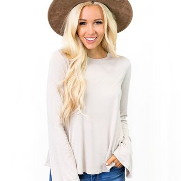 Christy Bell Sleeve Top
